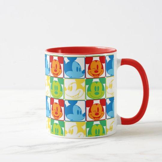 Mickey Pattern 7 Mug