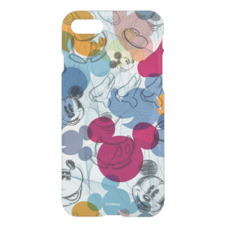 Mickey Pattern | Colorful Sketch Pattern iPhone 7 Case
