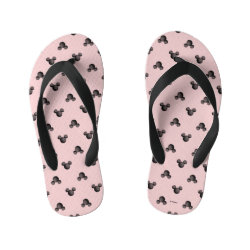Mickey Mouse Patterns Flip Flops, Kids