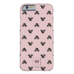 Mickey Mouse Patterns Case-Mate Barely There iPhone 6 Case