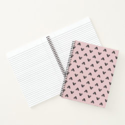 8.5' x 11' Spiral Notebook with Mickey Mouse Patterns design
