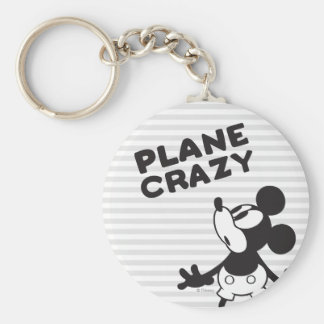Mickey Plane Crazy 2 Key Chains