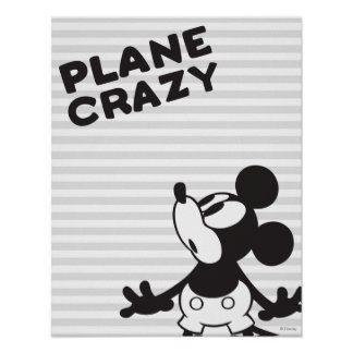 Mickey Plane Crazy 2 Poster