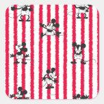 Mickey Plane Crazy Sticker