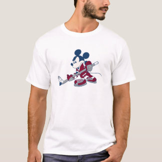Mickey Plays Hockey T-Shirt