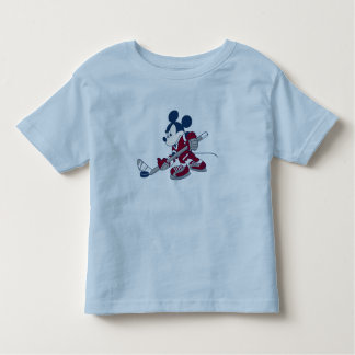 Mickey Plays Hockey Toddler T-shirt