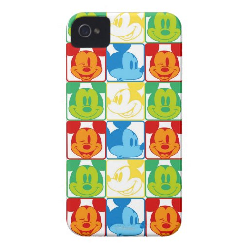 Mickey Pop Art Pattern iPhone 4 Covers