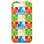 Mickey Pop Art Pattern iPhone 5 Covers