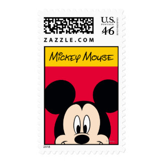 Mickey Postage Stamp