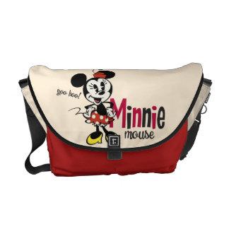 Mickey principal pone en cortocircuito el dulce bolsa de mensajería