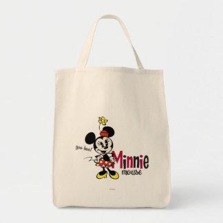 Mickey principal pone en cortocircuito el dulce bolsa tela para la compra