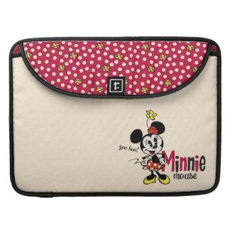 Mickey principal pone en cortocircuito el dulce funda macbook pro