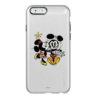 Mickey principal pone en cortocircuito el | Minnie Funda Para iPhone 6 Plus Incipio Feather Shine