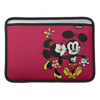 Mickey principal pone en cortocircuito el | Minnie Funda Para Macbook Air