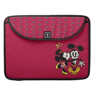 Mickey principal pone en cortocircuito el | Minnie Fundas Para Macbooks
