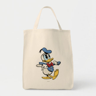 Mickey principal pone en cortocircuito el pato bolsa tela para la compra