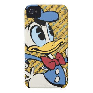 Mickey principal pone en cortocircuito el pato carcasa para iPhone 4