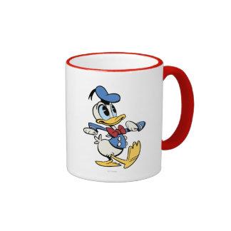 Mickey principal pone en cortocircuito el pato taza de dos colores