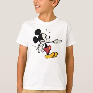 Mickey principal pone en cortocircuito el playera