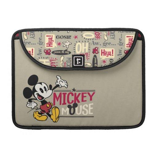 Mickey principal pone en cortocircuito el | que funda para macbook pro