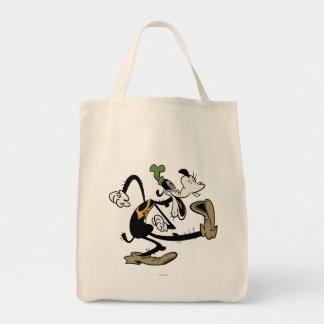 Mickey principal pone en cortocircuito el | torpe bolsa tela para la compra