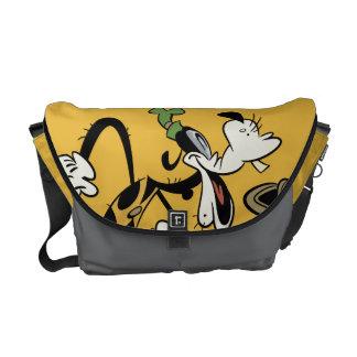 Mickey principal pone en cortocircuito el | torpe bolsas messenger