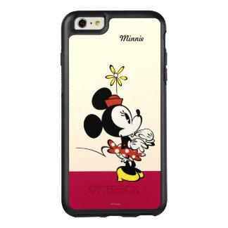 Mickey principal pone en cortocircuito la mano del funda otterbox para iPhone 6/6s plus