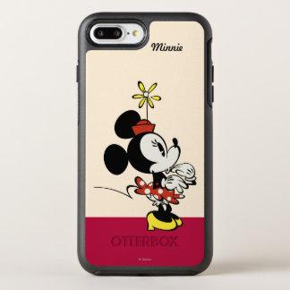 Mickey principal pone en cortocircuito la mano del funda OtterBox symmetry para iPhone 7 plus