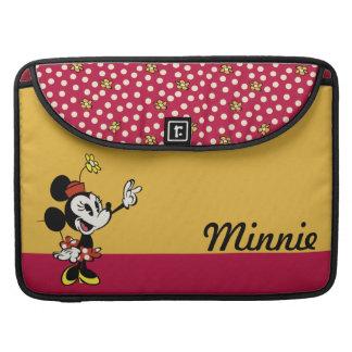 Mickey principal pone en cortocircuito la mano del funda para macbook pro