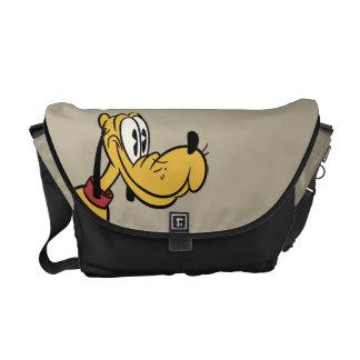 Mickey principal pone en cortocircuito la sentada bolsas de mensajería