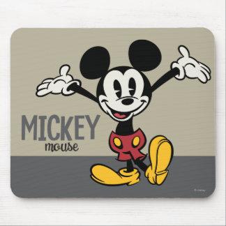 Mickey principal pone en cortocircuito los brazos alfombrillas de ratón