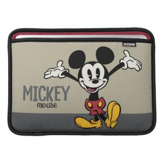 Mickey principal pone en cortocircuito los brazos funda macbook air