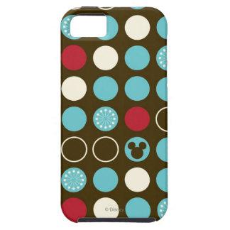 Mickey Retro Polka Dot Pattern iPhone 5 Covers