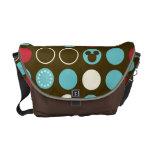 Mickey Retro Polka Dot Pattern Courier Bag