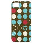 Mickey Retro Polka Dot Pattern iPhone 5 Cases