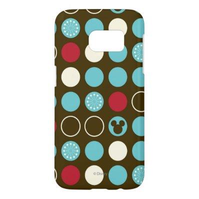 Mickey Retro Polka Dot Pattern Samsung Galaxy S7 Case