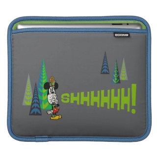 Mickey - Shhhhhh! iPad Sleeve