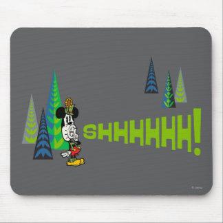¡Mickey - Shhhhhh! Alfombrillas De Raton