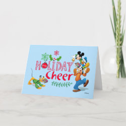 Standard Holiday Card with Pluto design