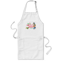 Long Apron with Pluto design