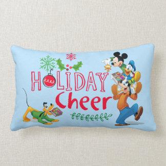 Mickey Spreading Holiday Cheer Lumbar Pillow