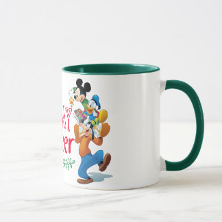 Mickey Spreading Holiday Cheer Mug