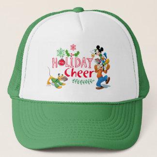 Mickey Spreading Holiday Cheer Trucker Hat
