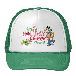 Trucker Hat with Pluto design