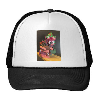 Mickey the maggot plays the bagpipes trucker hat