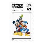 Mickey, torpe, y Donald