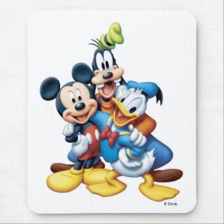Mickey, torpe, y Donald Alfombrillas De Ratón