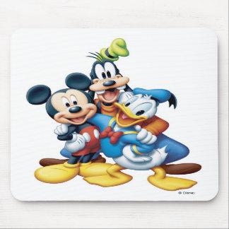 Mickey torpe y Donald Tapetes De Raton