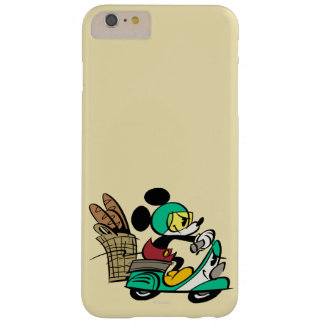 Mickey Vespa Riding Barely There iPhone 6 Plus Case