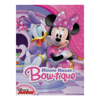 Mickey y amigos Arco-tique del | Minnie Póster